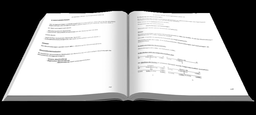 Abschreibungen - Fit in Buchführung - Basiskenntnisse mit Aufgaben und Lösungen - E-Book