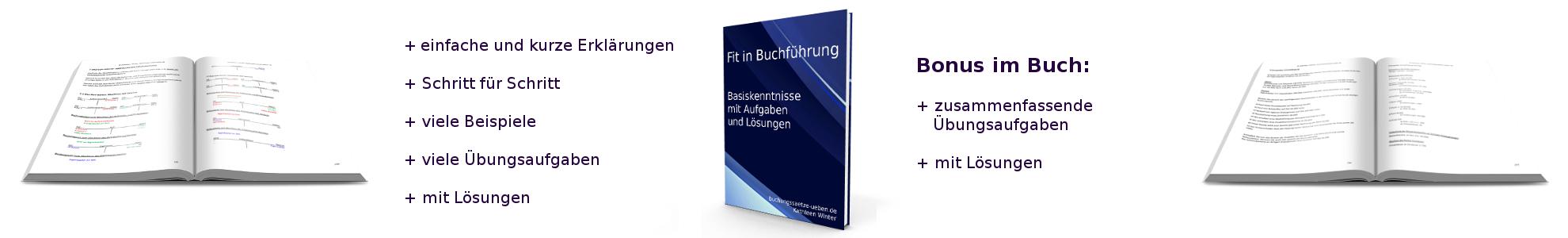 Fit in Buchführung – Basiskenntnisse mit Aufgaben und Lösungen