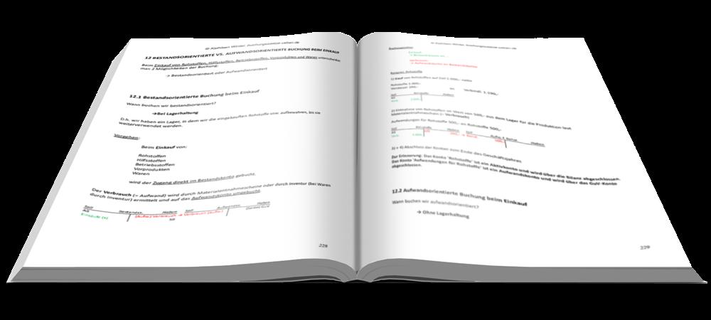 Bestandsorientierte vs. Aufwandsorientierte Buchung beim Einkauf - Fit in Buchführung - Basiskenntnisse mit Aufgaben und Lösungen - E-Book