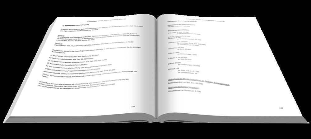 Bonus - Fit in Buchführung - Basiskenntnisse mit Aufgaben und Lösungen - E-Book