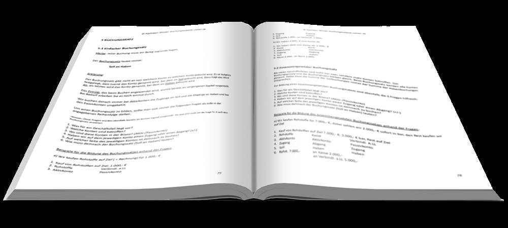 Buchungssatz - Fit in Buchführung - Basiskenntnisse mit Aufgaben und Lösungen - E-Book