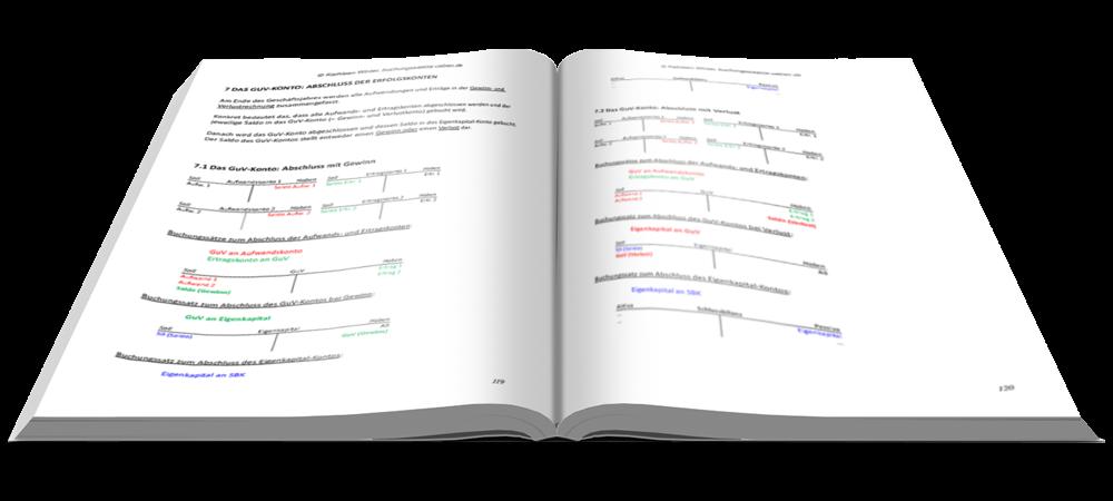 GuV-Konto - Fit in Buchführung - Basiskenntnisse mit Aufgaben und Lösungen - E-Book