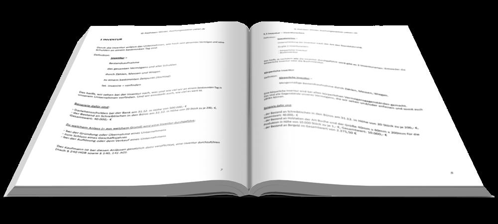 Inventur - Fit in Buchführung - Basiskenntnisse mit Aufgaben und Lösungen - E-Book